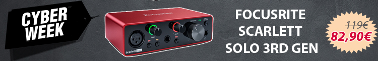 Focusrite Scarlett Solo 3Rd Gen - Black Friday