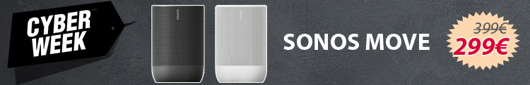 SONOS Move - Cyber Monday - 299€