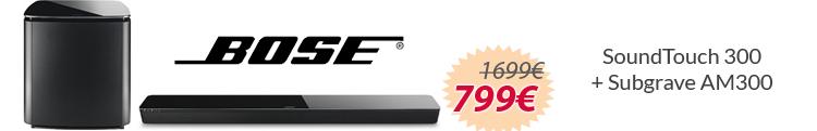 Bose AcoustiMass 300 + Bose SoundTouch 300 mejor precio oferta