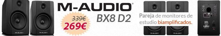 m-audio bx8 d2 promocion