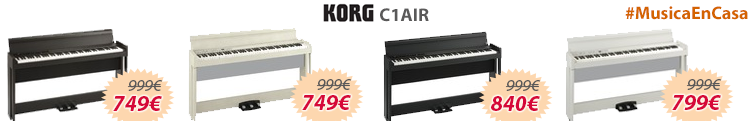 Korg c1 air oferta mejor precio colores
