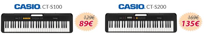 teclados casio ct-s oferta mejor precio