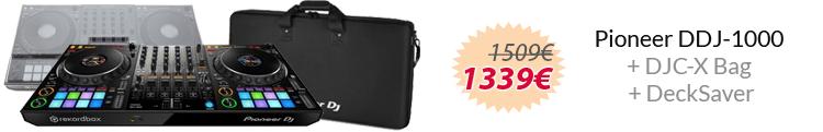 Pioneer ddj-1000 pack ahorro maleta