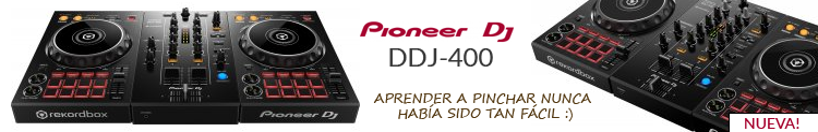 Pioneer ddj-400 mejor precio