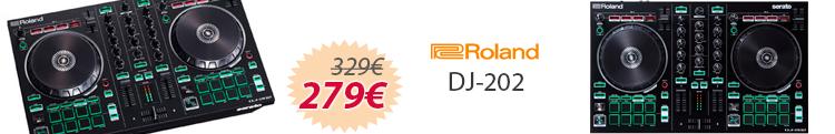 roland dj-202 mejor precio oferta