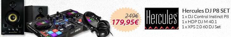 Hercules DJ P8 SET promo