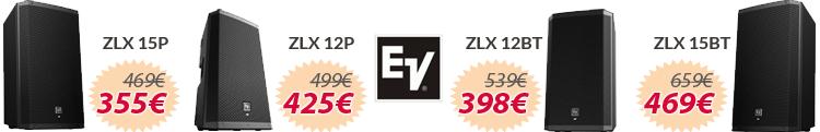electrovoice zlx series oferta mejor precio