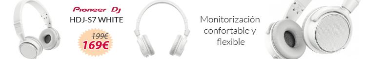 Pioneer hdj-s7 white oferta mejor precio