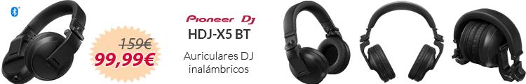 Pioneer HDJ X5 Bluetooth oferta mejor precio