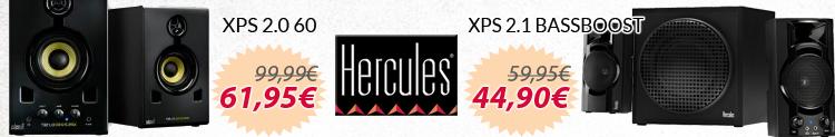 Hercules xps promocion