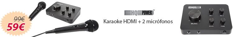 karaoke completo economico