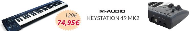 M-audio Keystation 49 mk2 mejor precio oferta