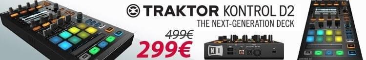 Traktor Kontrol D2 - 299€