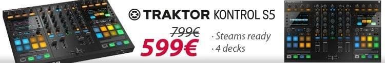 Traktor Kontrol S5 - 599€
