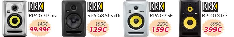 KRK RP G3 Series oferta