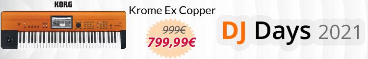 korg krome ex copper mejor precio oferta