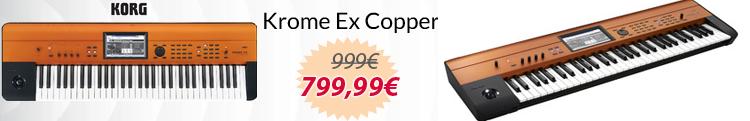 korg krome ex cooper mejor precio oferta