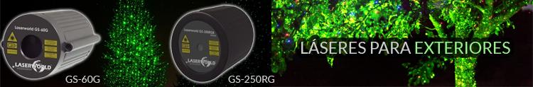 Laser para exteriores laserworld