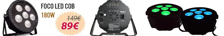 Foco LED COB 180W PAR oferta