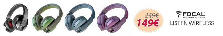 focal listen wireless mejor precio oferta