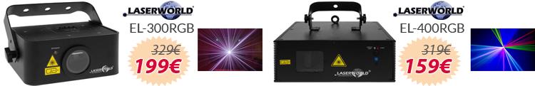 Lasers RGB mejor precio oferta