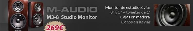 M-Audio m3-8 promocion