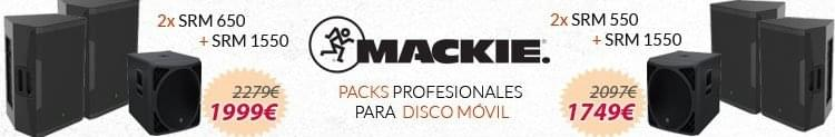 Packs Disco Móvil Mackie