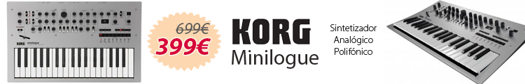 Korg minilogue oferta mejor precio