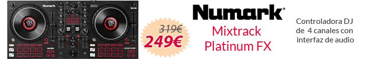 Numark mixtrack platinum mejor precio oferta