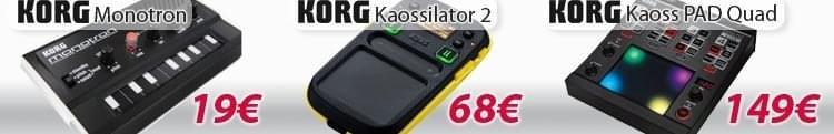 Monotron kaossilator 2 Pad Quad