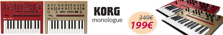 Korg monologue mejor precio oferta