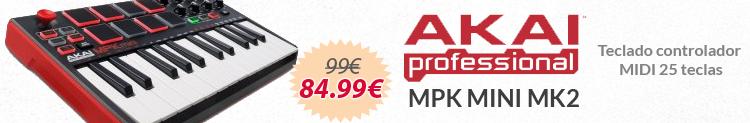 akai mpk mini mk2 promocion
