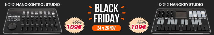 Nanokontrol y Nanokey black friday