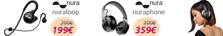 auriculares Nura mejor precio oferta