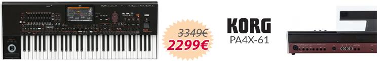 Korg PA4x-61 mejor precio oferta