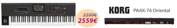Korg PA4x-76 Oriental mejor precio oferta