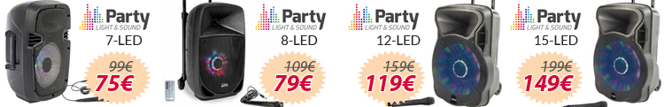 party light and sound led oferta