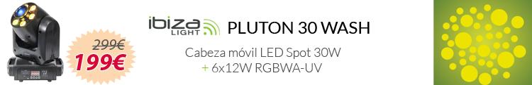 Ibiza Light Pluton 30 wash mejor precio oferta