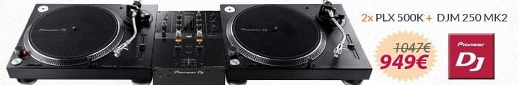 Pioneer plx 500 y djm 250 promocion