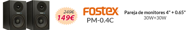Fostex PM-0.4C oferta