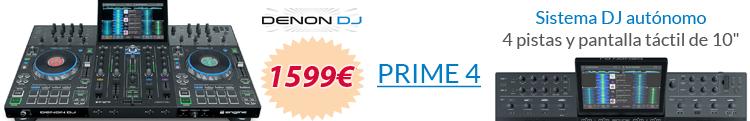 denon prime 4 oferta mejor precio