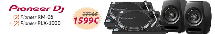 Pioneer rm-05 + plx 1000 oferta pack