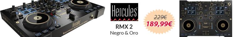 Hercules rmx 2 oro negro oferta