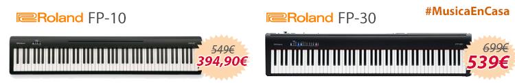 Roland fp-10 fp-30 oferta mejor precio