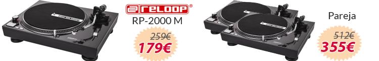 Reloop rp2000 m oferta
