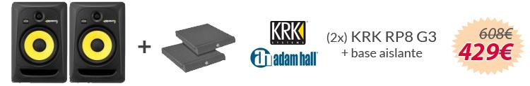 pack krk rp8 g3 y aislante oferta