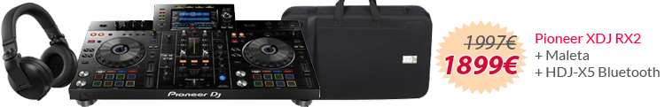 pioneer rx2 pack oferta mejor precio