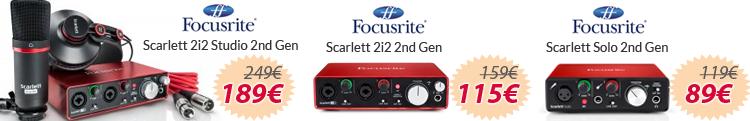 Focusrite scarlett 2i2 solo 2nd gen