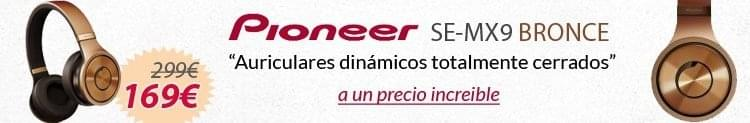 Pioneer se-mx9 bronce