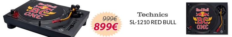 technics sl-1210 red bull mejor precio oferta